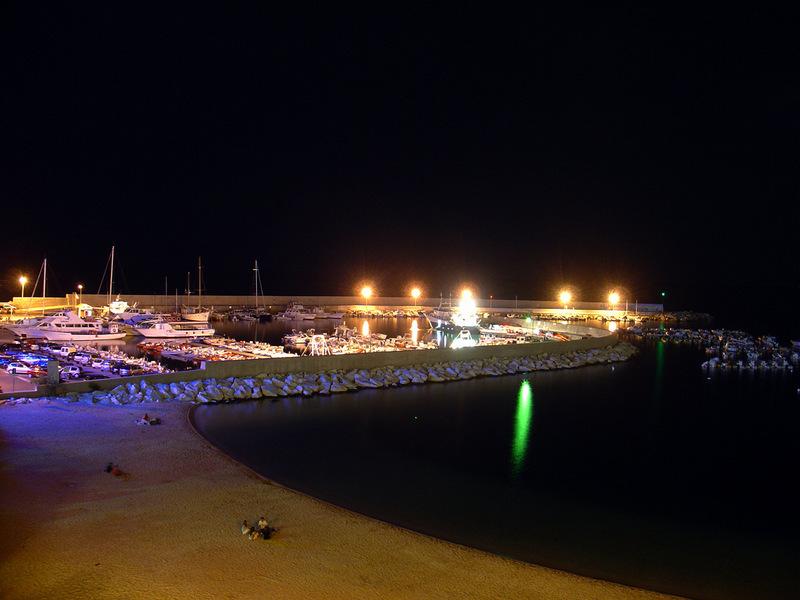 Il porto di Calagonone